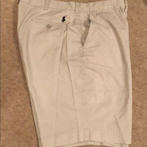 POLO BY RALPH LAUREN - Beige Bermuda Shorts -